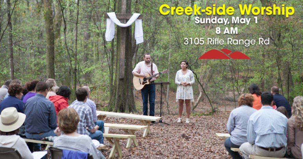 Creekside Worship May.001